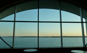 View from Monona Terrace over Lake Monona