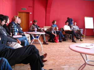 """Participants in the """"Biodynamic agriculture in the next generation"""" workshop"""