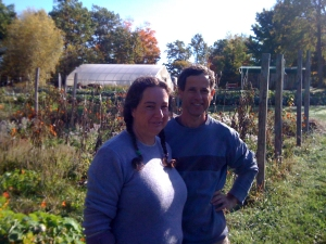 Lior and Elad Sadeh, who have started a nearby biodynamic farm called Bee Fields, focusing on herbs, tea, tinctures, and the like.
