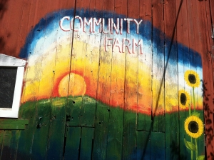 community farm of ann arbor sign