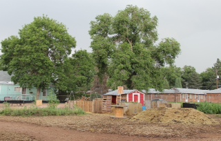The urban farm at Mountain Song Community School (©Kirsten Young)
